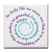 An Attitude Of Gratitude.