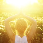 Meditation's effect on brain waves.